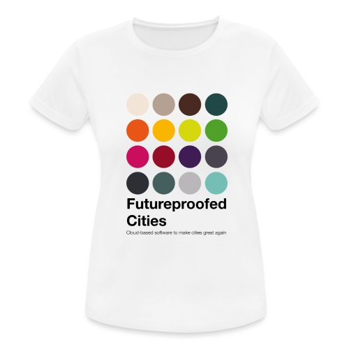 FutureproofedCities - T-shirt respirant Femme