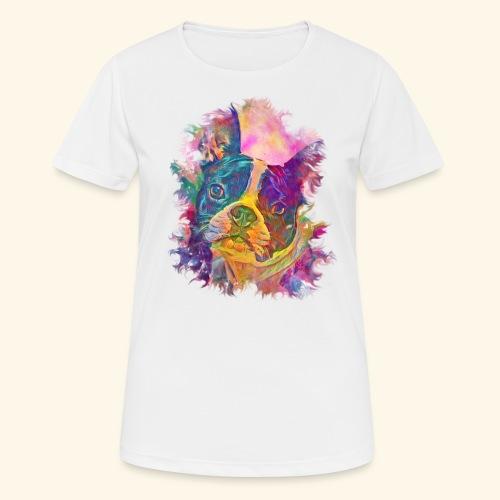 BULLDOG FRANCES - Camiseta mujer transpirable