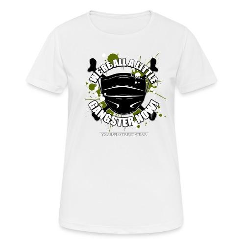Covid Gangster - Frauen T-Shirt atmungsaktiv