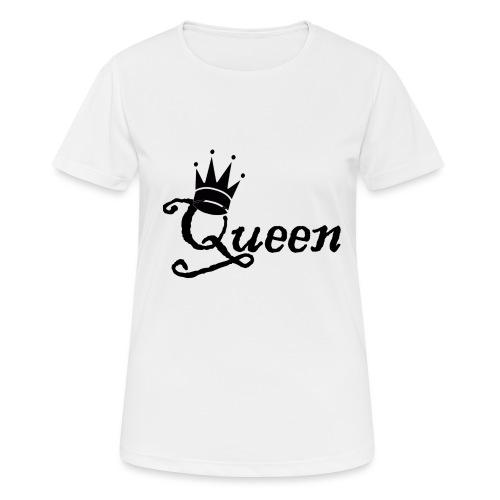 Queen (Parejas l) - Camiseta mujer transpirable