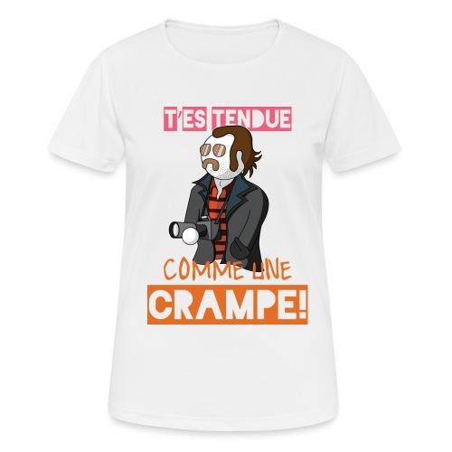 Claudy Faucan Dikkenek - T-shirt respirant Femme