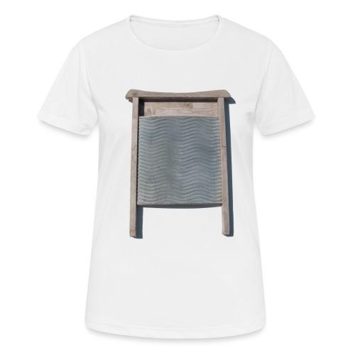 Vaskebræt - sixpack - Dame T-shirt svedtransporterende