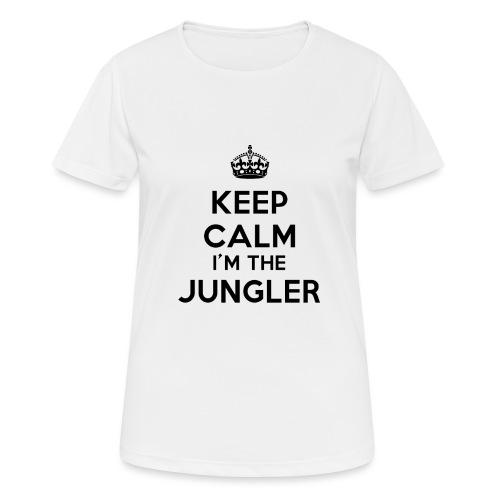 Keep calm I'm the Jungler - T-shirt respirant Femme