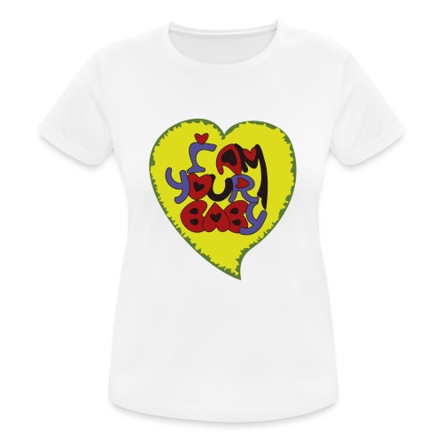 chica de tu corazón, tu chica, your baby - Camiseta mujer transpirable