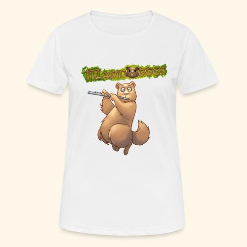 Tshirt Flute devant 2 - T-shirt respirant Femme