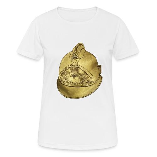 Casque pompier - T-shirt respirant Femme
