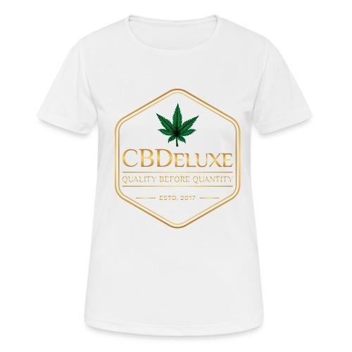 CBDeluxe - Frauen T-Shirt atmungsaktiv