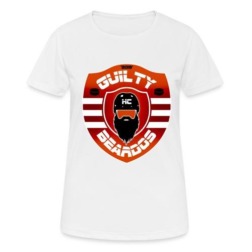 HC Guilty Beardos - naisten tekninen t-paita
