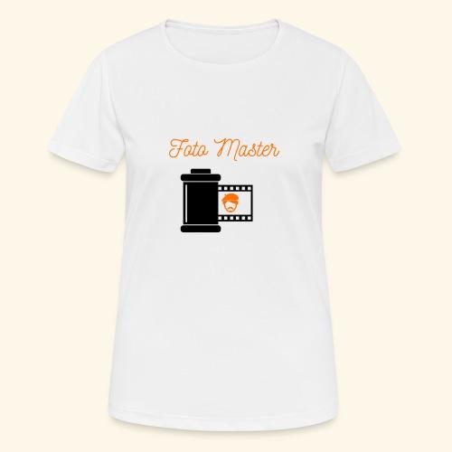 Foto Master - Dame T-shirt svedtransporterende