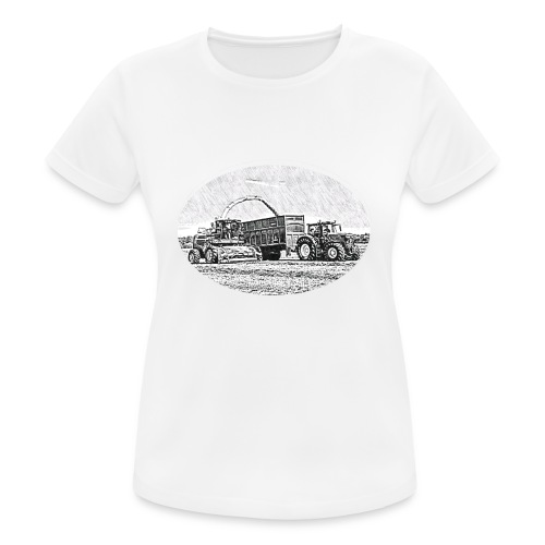 Sillageernte - Frauen T-Shirt atmungsaktiv