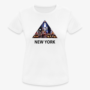 Triangle sur New York - T-shirt respirant Femme