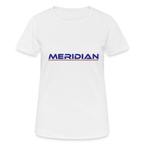 Meridian - Maglietta da donna traspirante