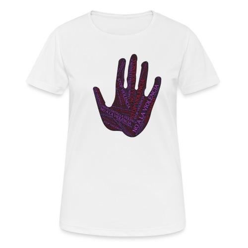 RESPETO A LA MUJER - Camiseta mujer transpirable