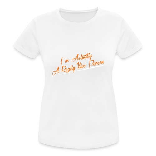 nice-person - Women's Breathable T-Shirt