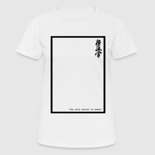 performance tshirt - Vrouwen T-shirt ademend actief