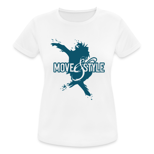 Move and Style Dance Academy - Frauen T-Shirt atmungsaktiv