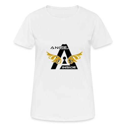 ANGEL INSIDE2-01 - Maglietta da donna traspirante