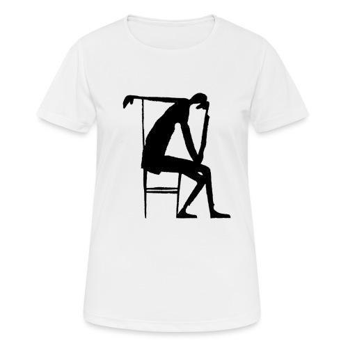 Franz Kafka - Der Denker - Frauen T-Shirt atmungsaktiv