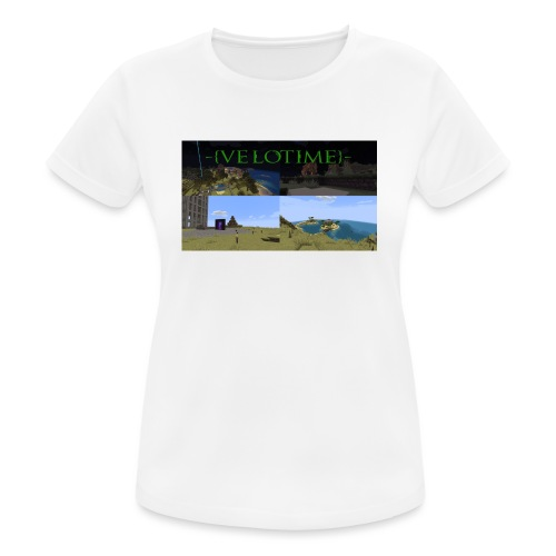 Velotime! - Andningsaktiv T-shirt dam
