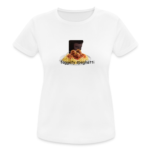 Fagetty Spaghetti (impact) - Women's Breathable T-Shirt