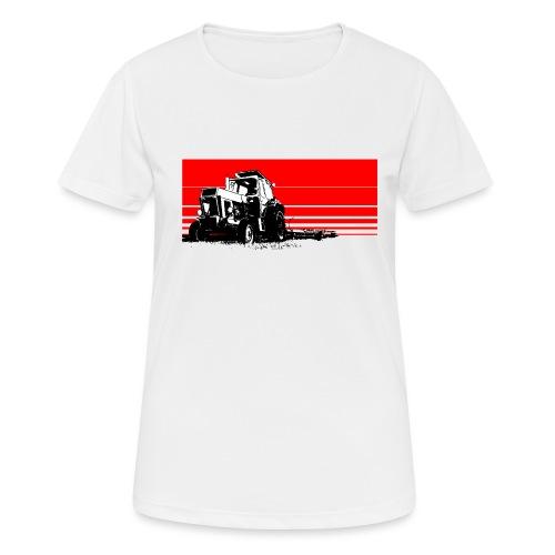 Sunset tractor - Maglietta da donna traspirante