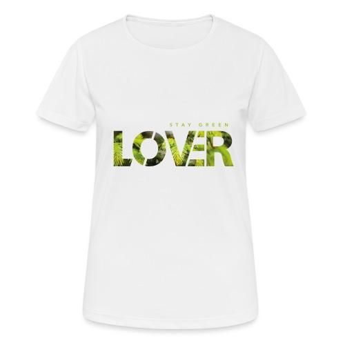Stay Green Lover - Maglietta da donna traspirante