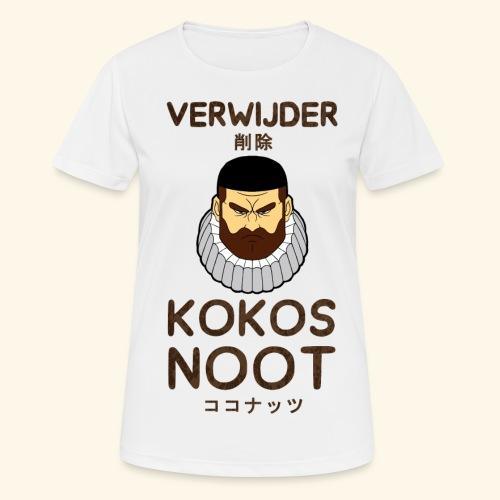 Verwijder Kokosnoot - Vrouwen T-shirt ademend actief