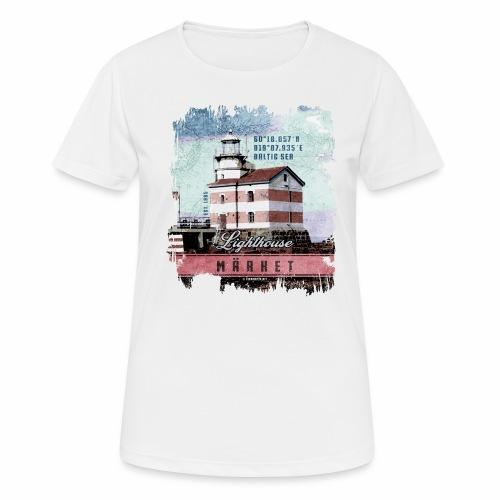 Märket majakkatuotteet, Finland Lighthouse, väri - naisten tekninen t-paita