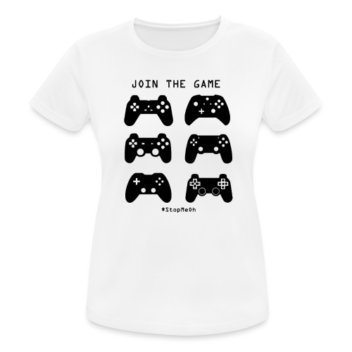 Join The Game - Women's Breathable T-Shirt