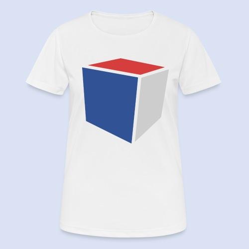 Cube Minimaliste - T-shirt respirant Femme
