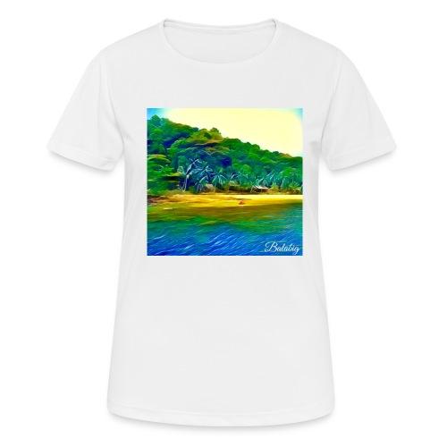 Tropical beach - Maglietta da donna traspirante