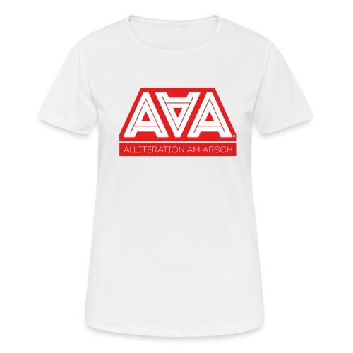 Alliteration Am Arsch - Frauen T-Shirt atmungsaktiv