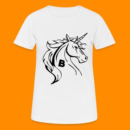 the biodusty unicorn mousepad - Vrouwen T-shirt ademend actief