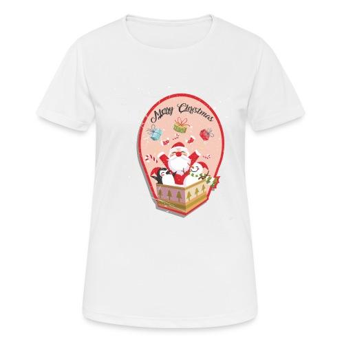 Merry Chrismas1 - T-shirt respirant Femme