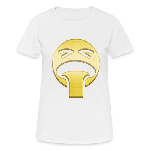 vomiting - Andningsaktiv T-shirt dam