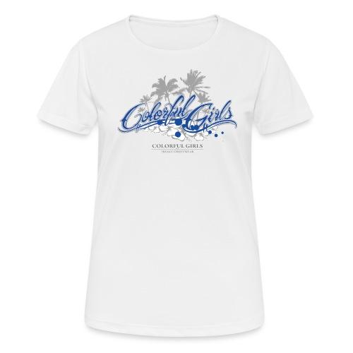 Colorful Girls Logo - Frauen T-Shirt atmungsaktiv