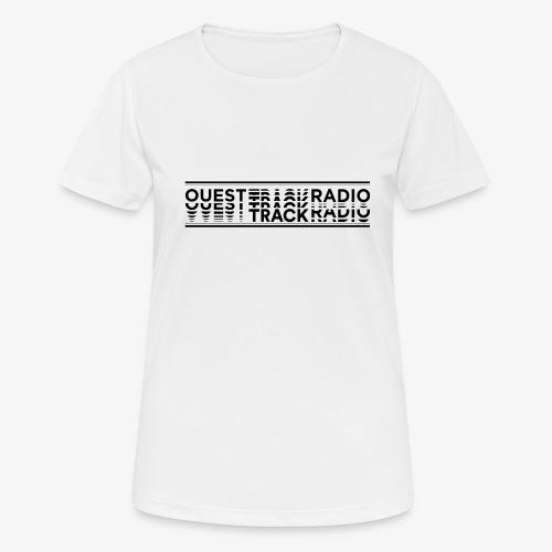 Logo Long noir - T-shirt respirant Femme