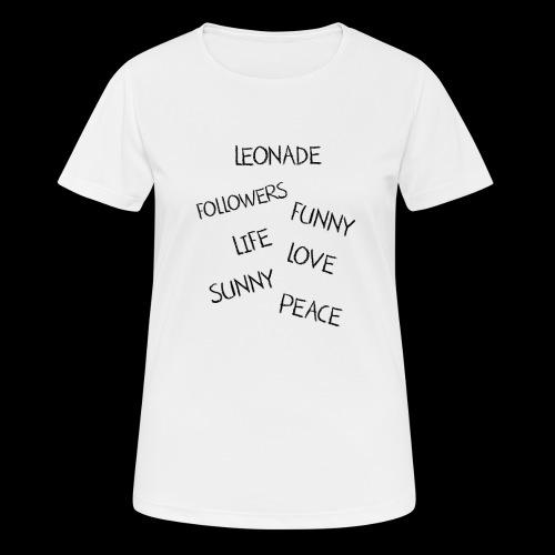 SANS PISE DE TETE - T-shirt respirant Femme