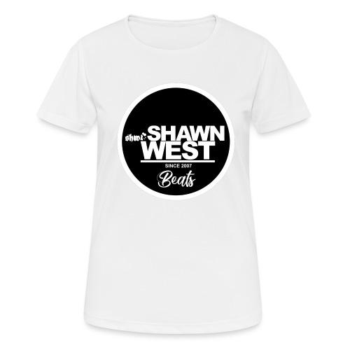 SHAWN WEST BUTTON - Frauen T-Shirt atmungsaktiv