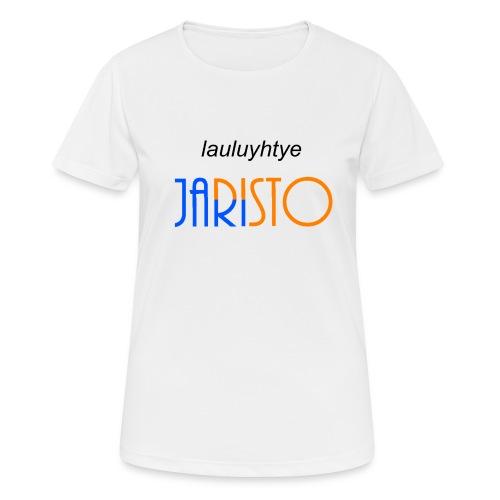 JaRisto Lauluyhtye - naisten tekninen t-paita