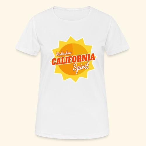 California Spirit Radioshow - T-shirt respirant Femme