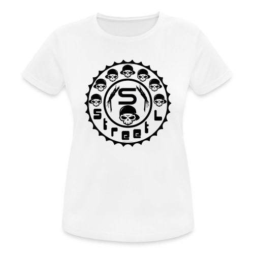 rawstyles rap hip hop logo money design by mrv - Koszulka damska oddychająca