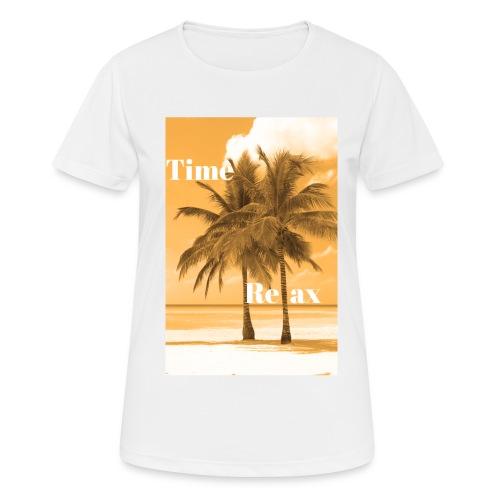 Time to Relax - Frauen T-Shirt atmungsaktiv