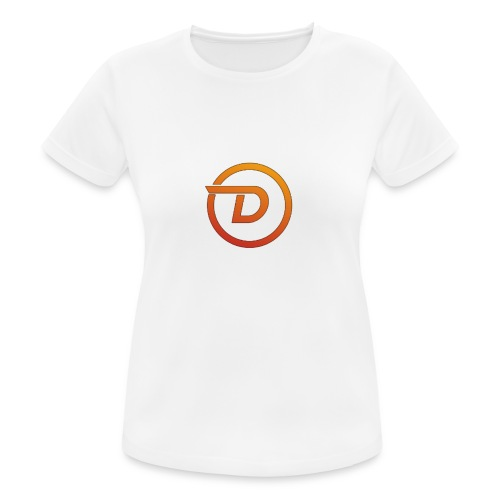 Demo Esport Logo - Pustende T-skjorte for kvinner