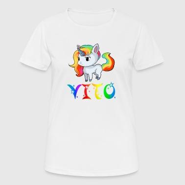 Einhorn Vito - Frauen T-Shirt atmungsaktiv