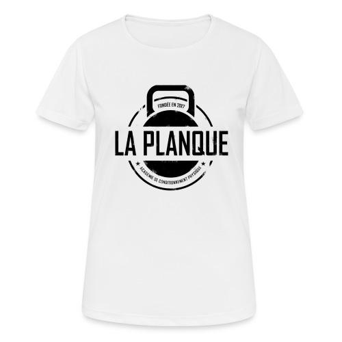 la_planque noir - T-shirt respirant Femme