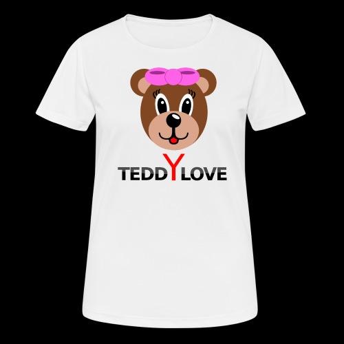 TEDDYLOVE Woman - Frauen T-Shirt atmungsaktiv