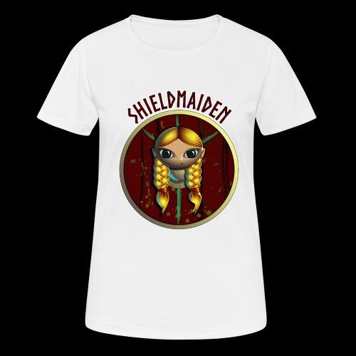 Shieldmaiden - Andningsaktiv T-shirt dam