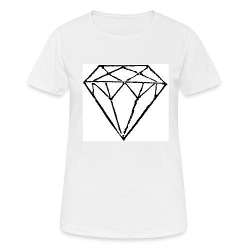 Diamond - Andningsaktiv T-shirt dam