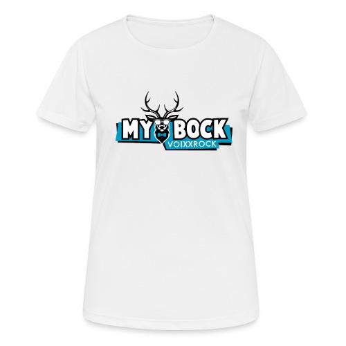MYBOCK Logo - Frauen T-Shirt atmungsaktiv
